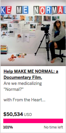 Make Me Normal - From the Heart Productions - Indiegogo